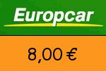 Europcar 8,00 Euro Gutscheincode