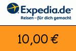 Expedia 10,00 Euro Gutscheincode