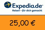 Expedia 25,00 Euro Gutscheincode