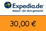 Expedia 30,00€ Gutscheincode