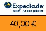 Expedia 40,00 Euro Gutscheincode