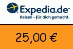 Expedia.ch 25,00 Euro Gutscheincode