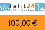 FaFit24 100 Euro Gutscheincode