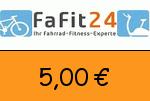 FaFit24 5,00€ Gutschein