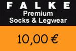 Falke 10,00 Euro Gutschein