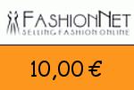 FashionNet 10,00 Euro Gutschein