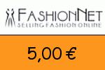 FashionNet 5,00€ Gutschein
