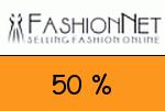 FashionNet 50 % Gutschein