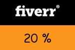 Fiverr 20 Prozent Gutschein