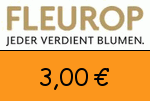 Fleurop 3,00 Euro Gutscheincode