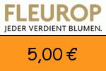 Fleurop 5,00€ Gutscheincode