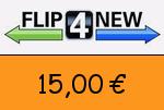 Flip4new 15 Euro Gutscheincode