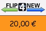Flip4new 20 € Gutscheincode