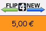Flip4new 5,00€ Gutscheincode