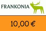 Frankonia 10,00 Euro Gutschein