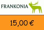 Frankonia 15 Euro Gutscheincode