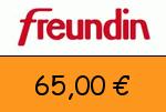 Freundin 65,00 Euro Gutscheincode