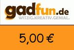 Gadfun 5,00€ Gutscheincode