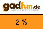 Gadfun 2 Prozent Gutschein