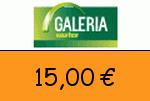Galeria-Kaufhof 15 Euro Gutschein
