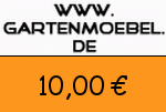 Gartenmoebel 10,00 Euro Gutscheincode