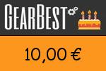 Gearbest 10,00 Euro Gutscheincode