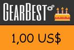 Gearbest 1,00 US Dollar Gutscheincode