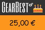 Gearbest 25,00 Euro Gutscheincode