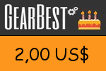 Gearbest 2,00 US Dollar Gutscheincode