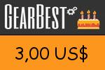Gearbest 3,00 US Dollar Gutscheincode