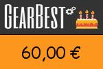 Gearbest 60,00 Euro Gutscheincode