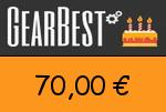 Gearbest 70,00 Euro Gutscheincode