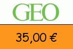 GEO 35,00 Euro Gutscheincode