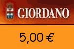 Giordano-Weine 5,00€ Gutscheincode