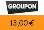 Groupon 13,00 Euro Gutschein