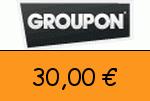 Groupon 30,00€ Gutschein