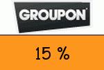 Groupon 15 % Gutscheincode