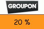 Groupon 20 Prozent Gutscheincode