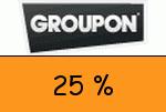 Groupon 25 Prozent Gutscheincode