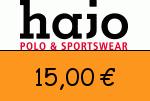 Hajo-Mode 15 Euro Gutscheincode
