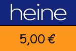 Heine 5,00€ Gutschein