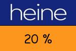 Heine.ch 20 Prozent Gutscheincode