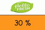 HelloFresh 30% Gutscheincode