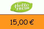 HelloFresh.at 15 Euro Gutscheincode