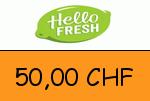HelloFresh.ch 50,00 CHF Gutscheincode