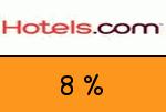 Hotels.com 8 Prozent Gutscheincode