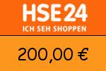 HSE24 200,00 Euro Gutscheincode