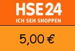 HSE24 5,00€ Gutschein