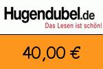 Hugendubel 40,00 Euro Gutschein