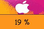 itunes 19 Prozent Gutschein